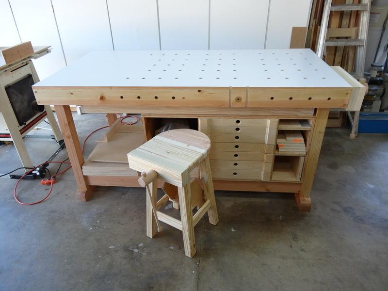 Flair Woodworks Shop Stool Build Off Trevors Workshop