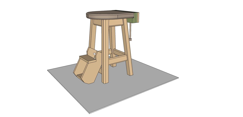 Flair Woodworks Shop Stool Build f – Trevor s Workshop